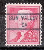 Locals USA Precancel Vorausentwertung Preo, Locals California, Sun Valley 841 - Precancels