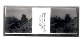 Plaque De Verre. Négatif. Belgique.Guerre 14/18. Nieuport Ville. Rue Rue Du Marché Août 1918 - Diapositiva Su Vetro