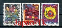 """LUXEMBURG  Mi.Nr. 1360-1362 EUROPA  Mitläufer """"Luxemburg - Kulturhauptstadt Europas """" - 1995 - MNH - 1995"""