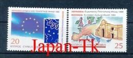 """ZYPERN  Mi.Nr. 860-861 EUROPA  Mitläufer """"Europäischer Kulturmonat, Nikosia"""" - 1995 - MNH - 1995"""