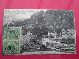 HAITI -  GONAIVES  Lancement Du Pont De La Quinte 1908 - Haiti