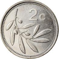 Monnaie, Malte, 2 Cents, 1998, British Royal Mint, TTB, Copper-nickel, KM:94 - Malta