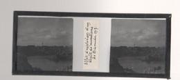 Plaque De Verre. Négatif. Belgique.Guerre 14/18. Effet D'explosion D'un Dépôt De Munitions à Dixmude 1917 - Diapositiva Su Vetro