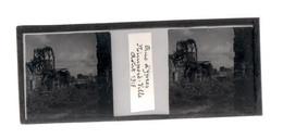 Plaque De Verre. Négatif. Belgique.Guerre 14/18. Rue D'Ypres Nieuport Ville Août 1918 - Diapositiva Su Vetro