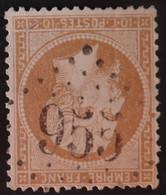 21 (cote 10 €) Obl GC 955 Chatellerault (80 Vienne ) Ind 2 ; Frappe Très Nette Et Centrée - 1849-1876: Classic Period