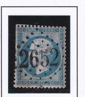 GC 2652 NEUVY SAUTOUR ( Dept 83 Yonne ) S / N° 22 - 1849-1876: Periodo Classico