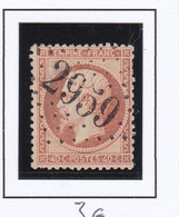 GC 2959 PONT SUR YONNE ( Dept 83 Yonne ) S / N° 23 - 1849-1876: Periodo Classico