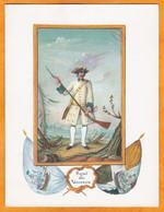 43e Régiment D'Infanterie - 1638 - Fantassin Du Régiment Royal Des Vaisseaux En 1757 - Ancêtre Du 43e R.I. - Regiments