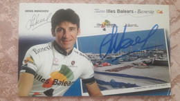 Denis MENCHOV Illes Balears Signature Originale - Cycling