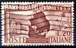 ITALIE                       N° 565                   OBLITERE - 1946-60: Afgestempeld