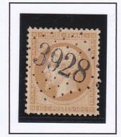 GC 3928 THEIL SUR VANNES ( Dept 83 Yonne ) S / N° 21 - 1849-1876: Periodo Classico