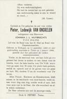 Terhagen, Tielen, 1969, Pieter Van Onckelen, Huybrechts, V.O.S. 1914-1918 - Devotion Images