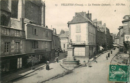 CREUSE  FELLETIN  La Fontaine Quinault - Felletin