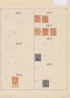 """Albert I / Houyoux / Lion Héraldique - Pages De Collection + Plaquette : Préo """"Diest..."""" (1919 > 1930) / Cote 80e + - Roulettes 1920-29"""