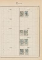 """Fine Barbe / Armoiries - Pages De Collection + Préo """"Dinant..."""" (1900 > 1912) / Cote 90e - Roulettes 1900-09"""