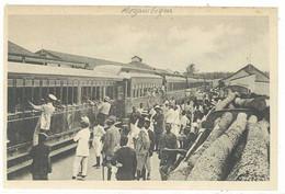 Cpa Afrique, Mozambique - Arrival Of Mail Train - Beira ( Train Postal )  ( S.4948 ) - Mozambique