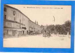 26 DROME - MONTELIMAR Avenue De La Gare, Tramway - Montelimar
