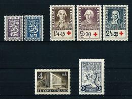 Finlandia LOTE Nuevo** - Unused Stamps