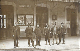 21 - Côte D'Or - GENELARD - La Gare - Cheminots - - Other Municipalities