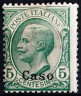 ITALIE Egée. Caso                       N° 2                 NEUF* - Egée (Caso)