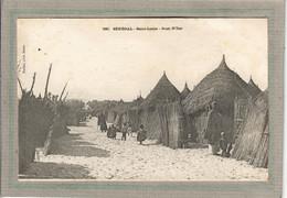CPA - SAINT-LOUIS (Sénégal) - Aspect Des Cases à Guet N'Dar En 1900 - Senegal