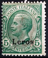ITALIE Egée. Léro                       N° 2                 NEUF* - Egée (Lero)