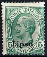 ITALIE Egée. Lipso                       N° 2                       NEUF* - Egée (Lipso)