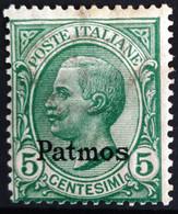 ITALIE Egée. Patmo                       N° 2                       NEUF* - Egée (Patmo)