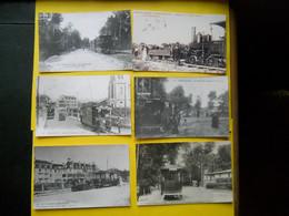Photo ,TRAMWAY Et Gares Du PAS DE CALAIS ,collection Bourneuf , Berck Plage ,Wimereux ,Le Touquet - Treni