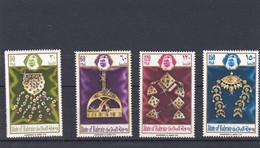 BARHEIN, Joaillerie, Bijoux Anciens, 6 TP, 226/229, Neufs Belle Gomme - Bahrain (1965-...)