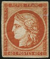 * N°5a 40c Orange Vif, Quasi SC - TB - 1849-1850 Ceres