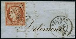 Oblit./fragment N°5a 40c Orange Vif - TB - 1849-1850 Ceres