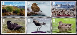 Falkland Islands - South Georgia - 2019 - Bird Habitats Restored - Mint Stamp Set - South Georgia