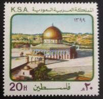 MNH STAMPS SAUDI ARABIA - 1979 Soldarity With Palestinians -1979 - Saudi Arabia