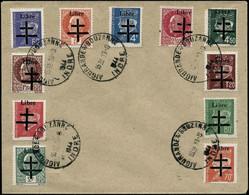 Lettre Aigurande N°1/11  Les 11 Val S/lettre - TB - Liberation