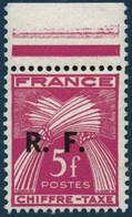 ** Bordeaux N°12/8 La Série Taxe Au Type III - TB - Liberation