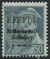 ** Montreuil Bellay N°29M/32M 4 Val Avec Surcharges Doubles - TB - Liberation