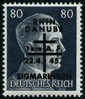 ** Sigmaringen (sauf 10 Et 12)  Les 17 Val - TB - Liberation