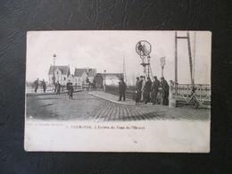 PK Dendermonde - L'Entrée Du Pont De L'Escaut - Uitg Nahrath - Ongelopen - Dendermonde