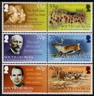 South Georgia - 2019 - Food In South Georgia - Mint Stamp Set - South Georgia