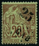 Oblit. N°3 25 Sur 20c Brique S/vert - TB - Unclassified