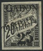 * N°13 25 Sur 20c Noir Noir - TB - Unclassified
