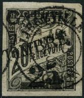 Oblit. N°13 25 Sur 20c Noir - TB - Unclassified