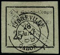 Oblit. N°15 25c Noir/vert  - TB - Unclassified