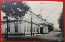 Cpa BELEM  PARA  Anime Dois Palacios : Municipal E Do Governo Estadual - Belém
