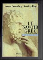 LE SAVOIR GREC DICTIONNAIRE CRITIQUE 1996 PHILOSOPHIE POLITIQUE LA RECHERCHE LES SAVOIRS FIGURES ET COURANTS DE PENSEE - History