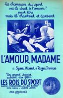 FERNANDEL - DU FILM LES ROIS DU SPORT / L'AMOUR MADAME - 1937 - EXCELLENT ETAT - - Filmmusik