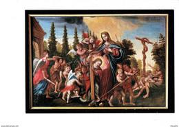 Cpm - Basilique De Mauriac - Légende Du Serpent Guérisseur - Illustration Enfant Ange - DEBAISIEUX - Fairy Tales, Popular Stories & Legends