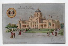 - CPA ST. LOUIS (Etats-Unis / Missouri) - OFFICIAL SOUVENIR 1904 - Missouri State Building - - St Louis – Missouri