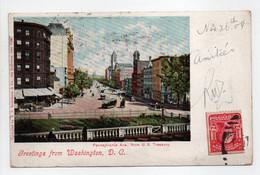 - CPA WASHINGTON D. C. (Etats-Unis) - Pennsylvania Ave. 1904 - - Washington DC